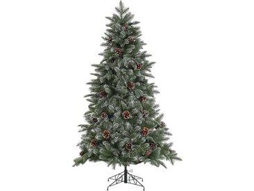 Home affaire Künstlicher Weihnachtsbaum, mit leicht beschneiten Ästen und Tannenzapfen