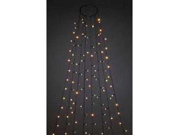 KONSTSMIDE LED-Lichterkette »Baummantel mit Ring und 8 Strängen«, 240 St.