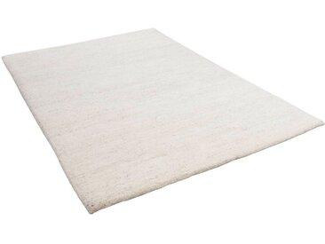 THEKO Wollteppich »Maloronga Uni«, rechteckig, Höhe 24 mm, echter Berber, reine Wolle, Wohnzimmer, natur, beige
