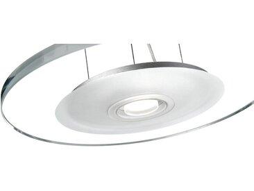 Qualitaetsware24 Hängeleuchte »LED Hängeleuchte höhenverstellbar Pendelleuchte 1x 7,5W 3100K LED Aluminium«