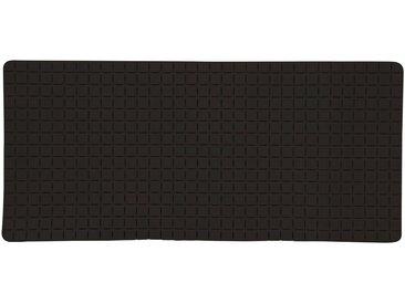 MSV Wanneneinlage »Quadro Premium«, B: 36 cm, L: 76 cm, schwarz, schwarz