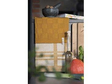 Knit Factory Tischdecke »Küchentuch Olivia Ecru/Med«