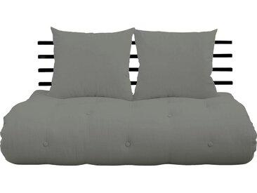 Karup Design Schlafsofa »Shinsano«, braun, Gestell schwarz, grau