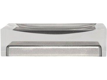 Seifenschale »Colours«, Breite: 7 cm, rechteckig, grau, grau