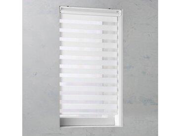 GARESA Doppelrollo »Duo-Rollo«, Lichtschutz, freihängend, Lichtregelung leicht gemacht, weiß, weiß