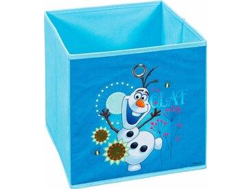 Home affaire Faltbox »Disney«, blau, Olaf