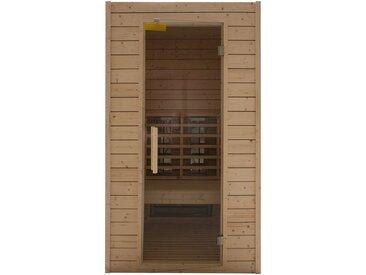 RORO Sauna & Spa RORO SAUNA & SPA Infrarotkabine »Typ 100«, 113x102x198 cm, natur, natur