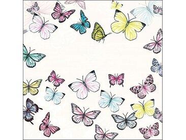 Ambiente Papierserviette »Schmetterlingsausflug«, (20 St), 33 cm x 33 cm, 20 St.