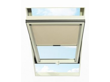 RORO Türen & Fenster RORO TÜREN & FENSTER Verdunkelungsrollo BxL: 74x114 cm, beige, natur, natur