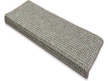 Floordirekt Stufenmatte »Carlton 1A«, Rechteckig, Höhe 7,5 mm, grau, Graubeige 71