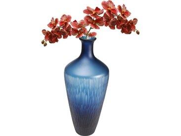 KARE Dekovase »Vase Cutting blau Taille 43cm«