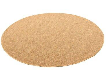 Snapstyle Sisalteppich »Sisal Natur Teppich Rund«, Rund, Höhe 6 mm, braun, Nuss