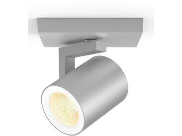 Philips Hue LED Deckenspot »White & Col. Amb. Argenta aluminium 350lm«