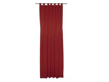 Wirth Vorhang »LANGWASSER«, Schlaufen (1 Stück), rot, rot