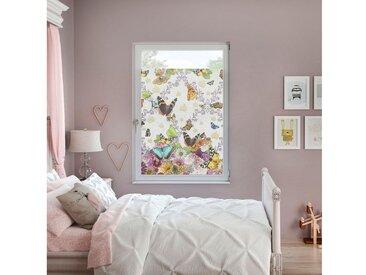 POMPÖÖS by Lichtblick Fensterfolie, blickdicht, strukturiert, selbstklebend, Sichtschutz