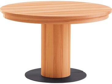 VENJAKOB Esstisch »my home«, runde Tischplatte, Ø 120 cm, braun, kernbuche