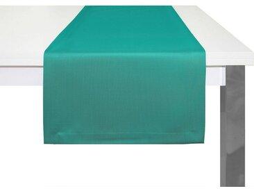 Adam Tischläufer »Uni Collection«, GOTS zertifiziert, nachhaltig, blau, petrol