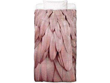 Juniqe Bettwäsche »Pastel Feathers«, In vielen weiteren Designs erhältlich, 1 St. x 155 cm x 220 cm
