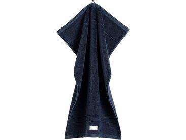 Gant Badetuch »Organic Premium« (1-St), aus 100% Bio-Baumwolle, blau, dunkelblau