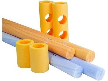 Noma Decor Set: Spielzeug »COMFY® Pool-Set«, 4 Schwimmnudeln und 4 Connectoren, bunt, bunt
