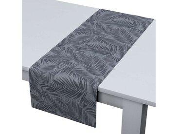 Dekoria Tischläufer, graphite-silbern