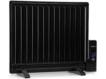 ONECONCEPT Ölradiator 600W Thermostat Ölheizung »Wallander«, schwarz, schwarz