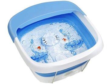 COSTWAY Badewanne »Fußbad Massagegerät Fußmassage Elektrische Fußbadewanne«, Heizung und Sprudelmassage, mit Massagerollen, Bimsstein, Scheuerbürste