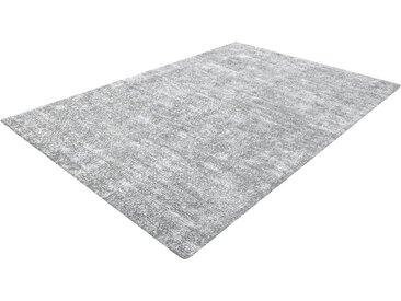 calo-deluxe Teppich »Blake 210«, rechteckig, Höhe 11 mm, Kurzflor, grau, silberfarben-grau