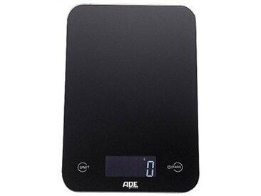 ADE Küchenwaage »KE 926 - Slim«, mit Sensor-Touch, 15 mm flach, grammgenau bis 5kg, schwarz, schwarz