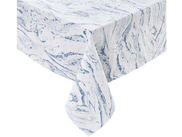BUTLERS Tischdecke » BLUE MARBLE Tischdecke L 160 x B 160cm«