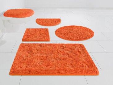 Möve Badematte »Essentail/Superwuschel« , Höhe 40 mm, Besonders weich durch Microfaser, rot, red orange