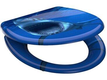 Schütte WC-Sitz »Shark«, mit Absenkautomatik