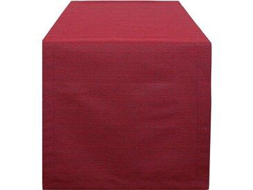 HOSSNER - HOMECOLLECTION Tischläufer »3267 Amalia« (1-tlg), rot, rot