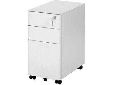 Gotui Aktenschrank Aktenschrank »Büroschrank Werkzeugschrank, Abschließbarer Büroschrank mit Schubladen, Für Arbeitszimmer, weiß