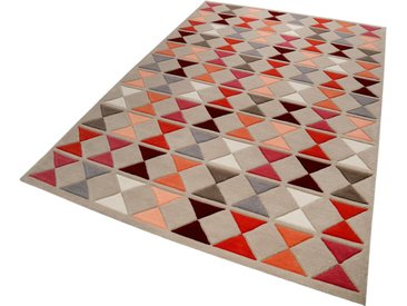 Esprit Wollteppich »Mahan«, rechteckig, Höhe 10 mm, rot, rot