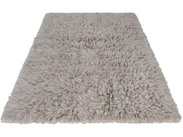 Guido Maria Kretschmer Home&Living Flokati-Teppich »Lykos��, rechteckig, Höhe 90 mm, Naturbelassene Wolle, grau, grau
