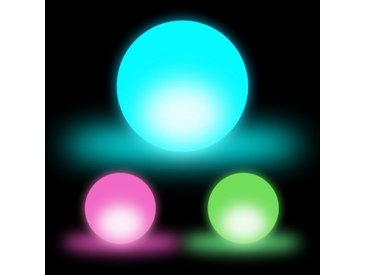 relaxdays LED Kugelleuchte »LED Kugel 3er Set«