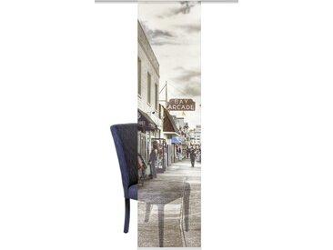 HOME WOHNIDEEN Schiebegardine »SINGAPUR«, Klettband (1 Stück), HxB: 245x60, inkl. Befestigungszubehör
