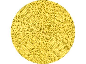 stuco Platzset »Basket« (Set 4-tlg), gelb, gelb