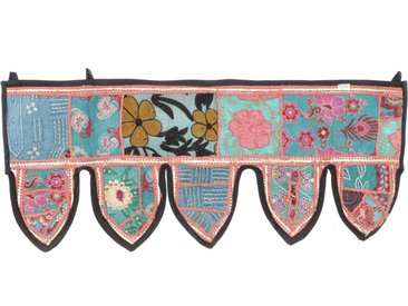 Guru-Shop Wandteppich »Orientalischer Wandbehang, indischer Toran,..«, Höhe 35 mm, Design 1