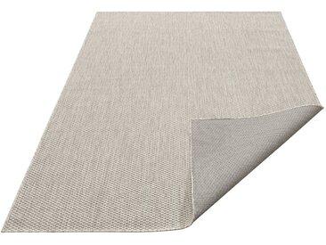 my home Teppich »Rhodos«, rechteckig, Höhe 3 mm, In- und Outdoor geeignet, Sisaloptik, grau, grau
