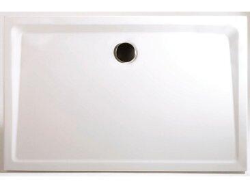 Rechteckduschwanne »Extraflach«, rechteckig, Sanitäracryl, BxT: 100 x 80 cm