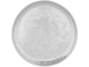 BUTLERS Tablett » ORIENTAL LOUNGE«, Aluminium, silberfarben, Silber