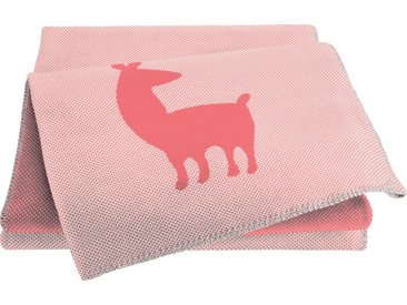 BIEDERLACK Babydecke »Alpaca«, rosa, rosa