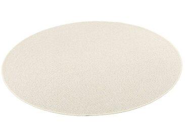 Snapstyle Designteppich »Bentzon Natur Flachgewebe Teppich Rund«, Rund, Höhe 5 mm, natur, Sand