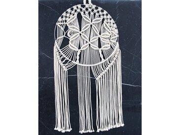 KUNSTLOFT Wandteppich »Skillful Hands«, rechteckig, Höhe 10 mm, handgefertigter Wandteppich im Ethno-Stil