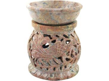 Guru-Shop Duftlampe »Indische Duftlampe, ätherisches Öl Diffusor,..«, Rund Pfau