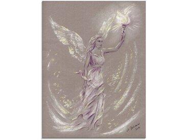 Artland Glasbild »Engel der Hoffnung - Engelkunst«, Religion (1 Stück)