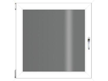 RORO Türen & Fenster RORO TÜREN & FENSTER Kunststoff-Fenster BxH: 60x60 cm, ohne Griff, weiß, links, weiß