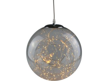 AM Design LED Dekolicht »Lichterglanz«, LED Kugel aus Glas, Ø ca. 30 cm